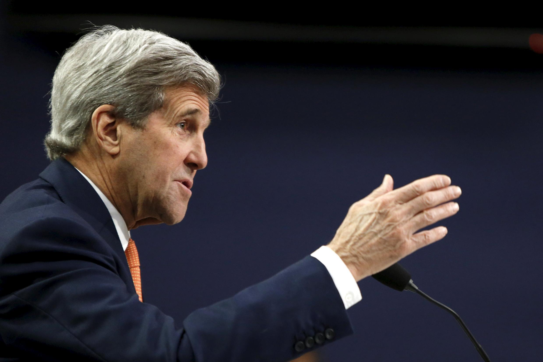 Государственный секретарь США Джон Керри предложит Брюсселю помощь Вашингтона в борьбе с терроризмом