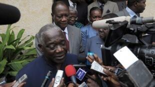 Le secrétaire général du PDCI,  Alphonse Djédjé Mady.