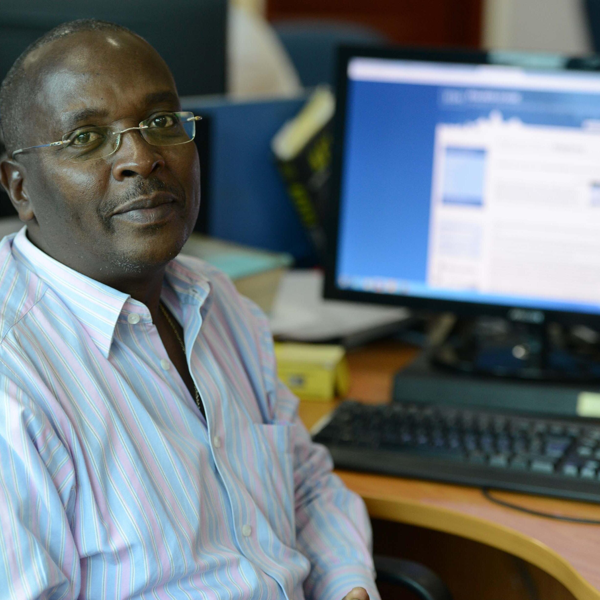 Esdras Ndikumana é correspondente da RFI e da AFP no Burundi há mais de uma década.