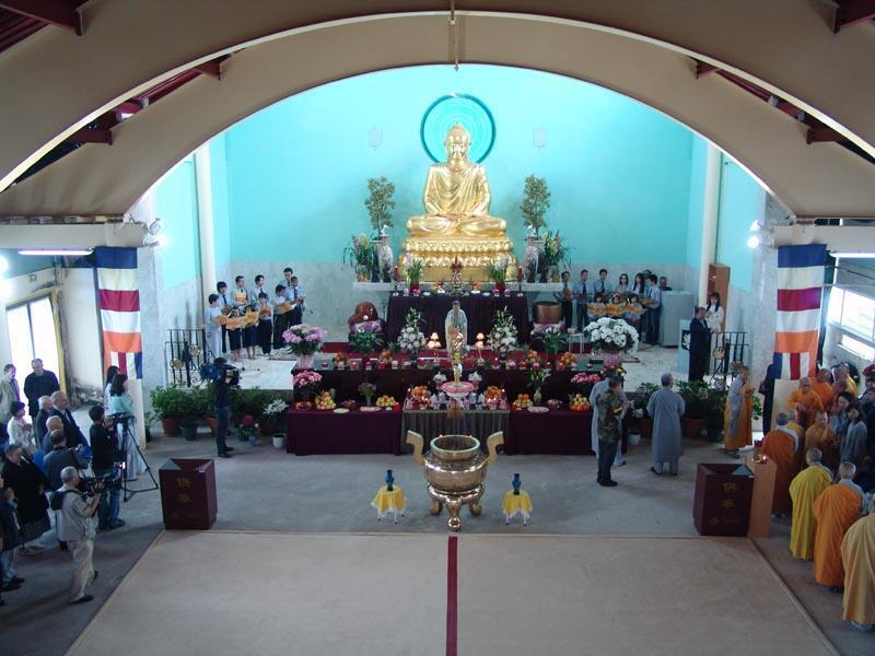 Lễ Phật Đản tại chùa Khánh Anh Evry (DR)