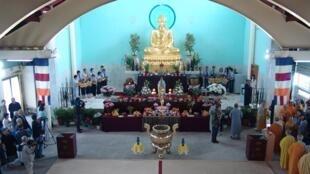 Image d'archive(存档图片): Anniversaire de Bouddha à Evry France
