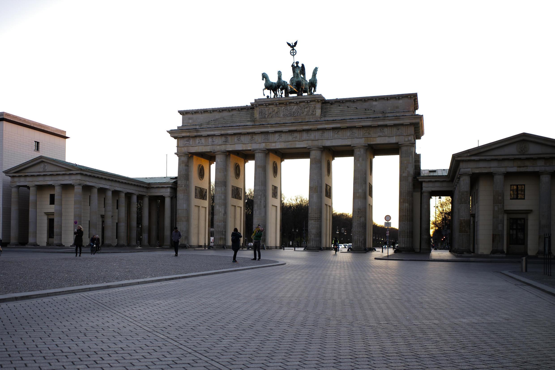 德國柏林 la porte de Brandbourg