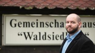 Stefan Jagsch, un neonazi a la cabeza de Waldsiedlung.