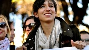 Elly Schlein à Rome en 2014.