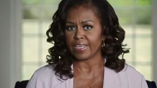 Michelle Obama in closing arguments for the Biden-Harris campaign