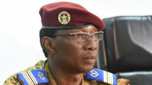 Le colonel Auguste Denise Barry, le 6 novembre 2014 à Ouagadougou.
