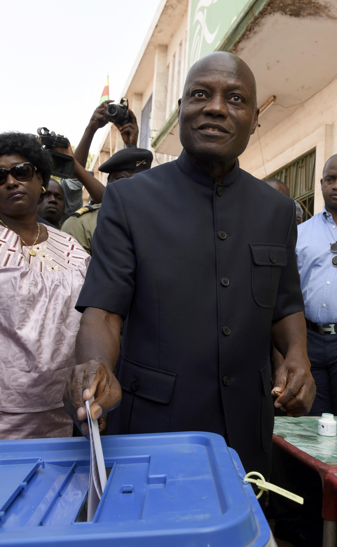 José Mário Vaz, presidente da Guiné-Bissau