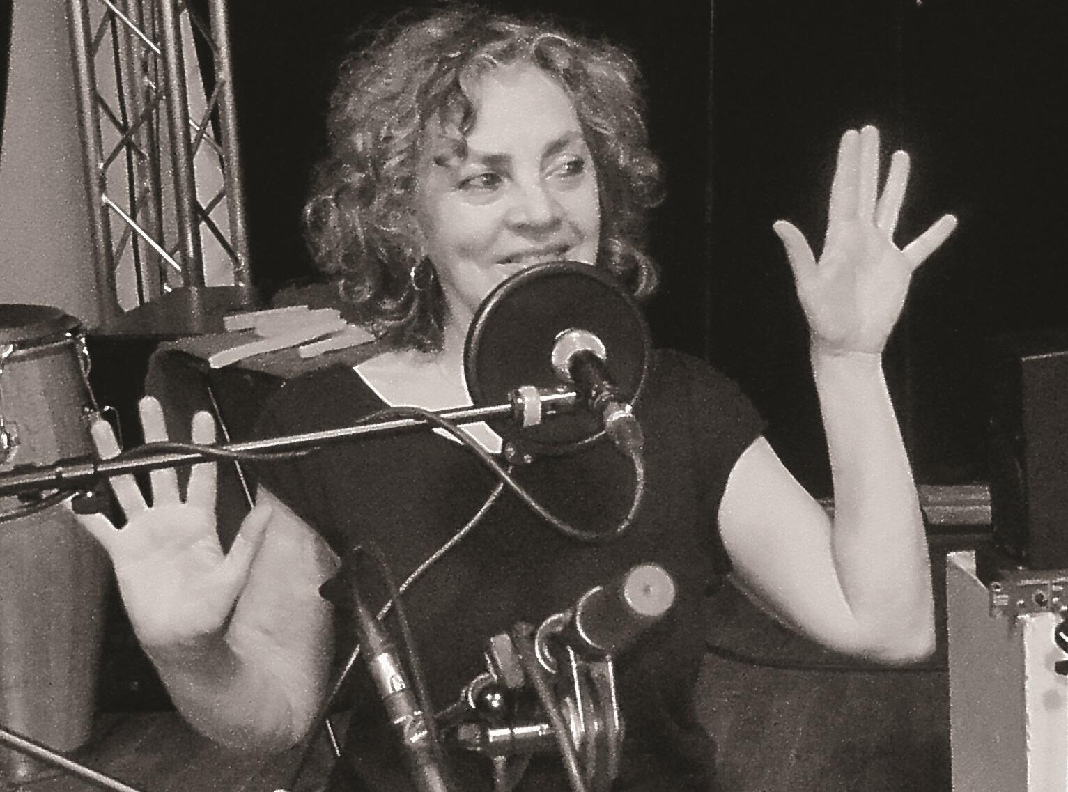 La percusionista franco-uruguaya Mirta Pozzi