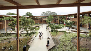 2 - Um dos projetos brasileiros destacados na revista é o Moradias Infantis, de Rosenbaum e Aleph Zero, em Formoso do Araguaia, Tocantins (Foto -Divulgação-Cristóbal Palma)