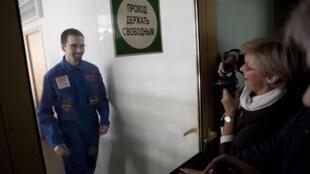 """Ромен Шарль, французский участник проекта """"Марс-500"""""""