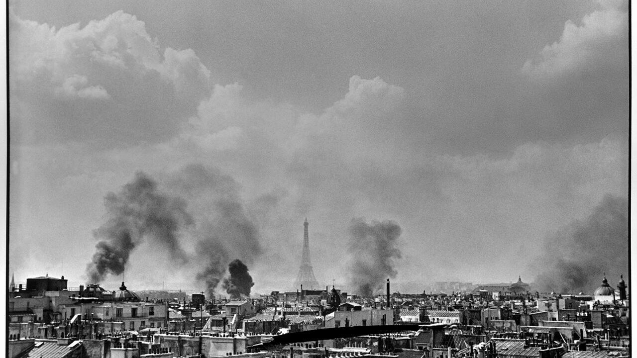 Освобождение Парижа, 25 августа 1944. Фрагмент.