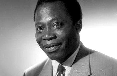 Barthélémy Boganda, héros de l'AEF (Afrique équatoriale française).