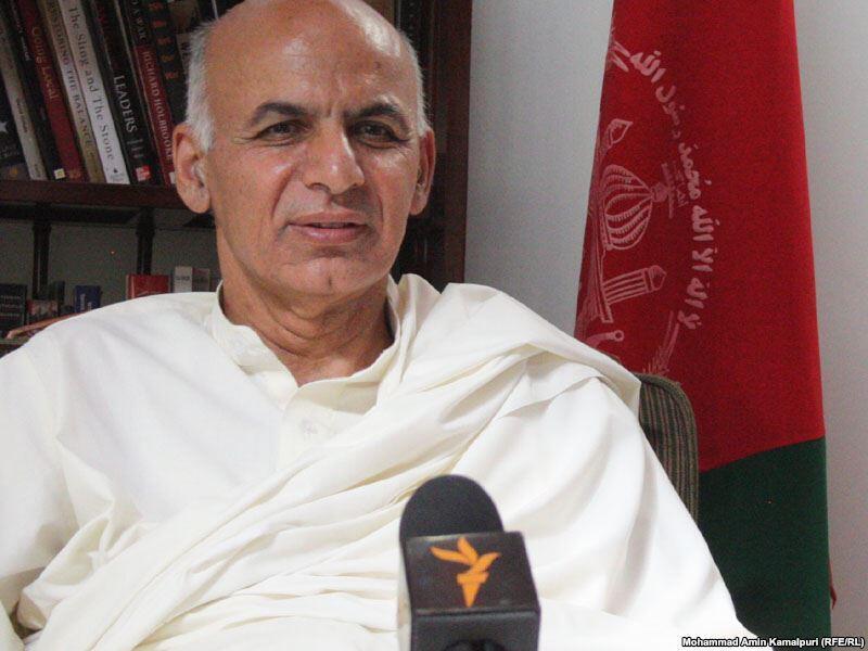 اشرف غنی احمدزی، رئیس جمهوری افغانستان