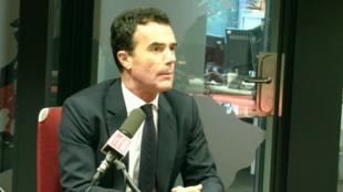 Sandro Gozi, chargé de mission d'Édouard Philippe pour les questions européennes, le 19 septembre 2019 sur RFI.