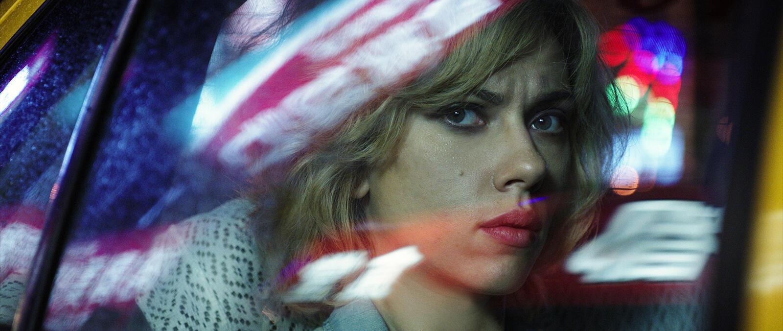 Scarlett Johansson, interprète principale du dernier film de Luc Besson « Lucy ».