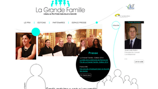 Site internet de l'initiative La Grande Famille.