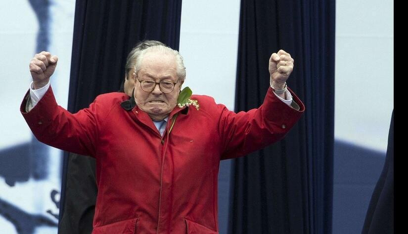 Jean Marie Le Pen backs Donald Trump for US preisdent