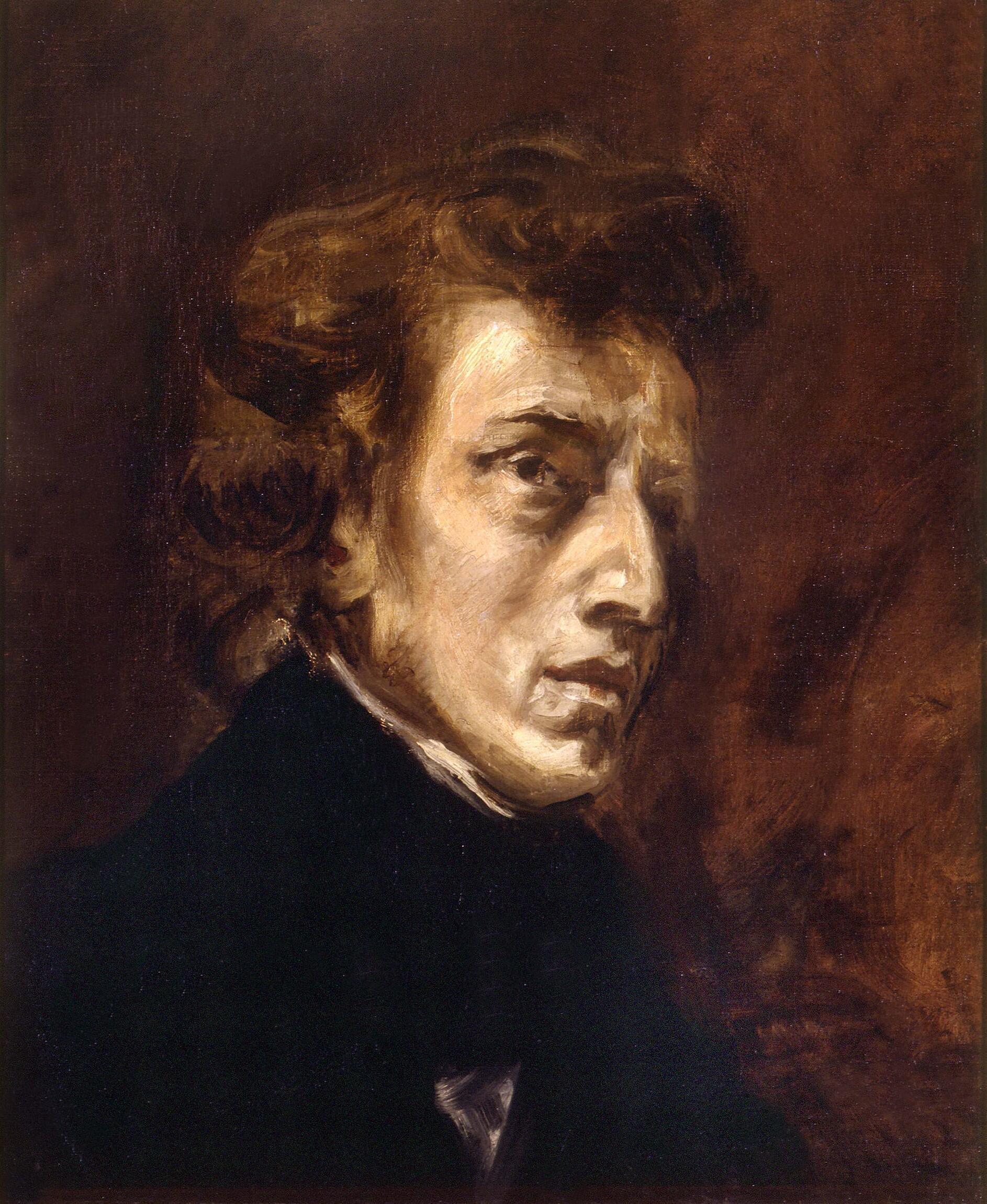 Eugène Delacroix  Frédéric Chopin (1838)