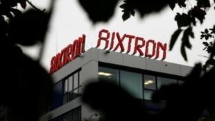 Logo của công ty Aixtron, tại thành phố Aachen, miền tây nước Đức
