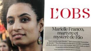 """Com o título """"Marielle Franco, mártir e mistério do Rio"""", reportagem questiona as motivações do assassinato da vereadora."""