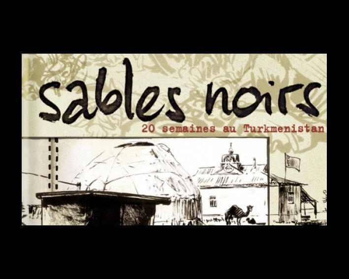 Couverture de «Sables noirs», du dessinateur Troubs.