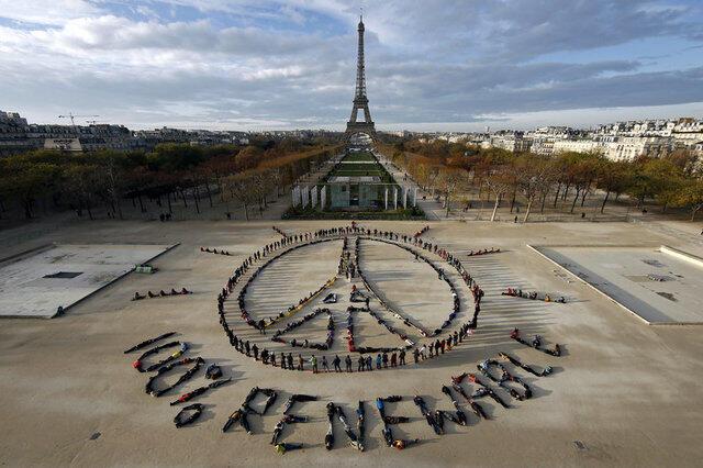COP21 em Paris.