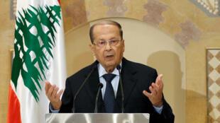 O ex-general Michel Aoun, de 81 anos, foi eleito nesta segunda-feira presidente do Líbano