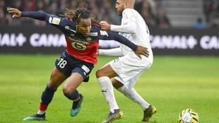 Renato Sanches (esquerda), internacional português do Lille.