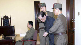 Jang Song-Thaek faces a military tribunal before his execution
