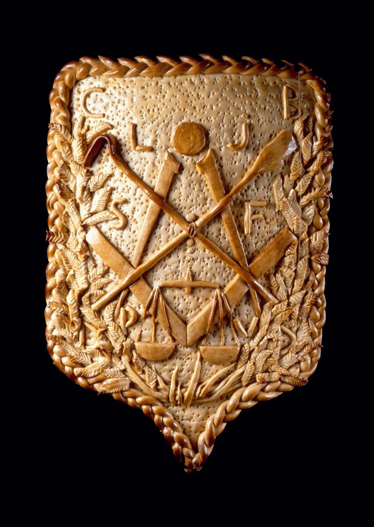 Герб булочников с символикой, весьма напоминающей масонскую