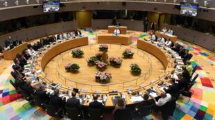 Conseil européen à Bruxelles le 22 juin 2017.