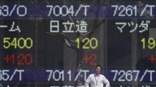 Sau kết quả bầu cử Hy Lạp, chỉ số chứng khoán Nhật Bản Nikkei tăng 1,77 % ©Reuters