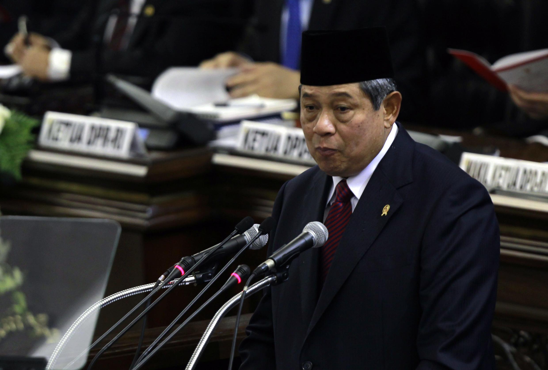 """លោកប្រធានាធិបតីឥណ្ឌូនេស៊ី Susilo Bambang Yudhoyono ថ្លែងសង្ខេបថា  """"ប្រទេសឥណ្ឌូនេស៊ីចង់បានបច្ចាមិត្តសូន្យ  ក៏ប៉ុន្តែមានមិត្តមួយលាន"""""""