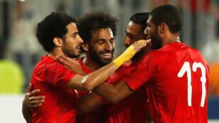 Les Égyptiens ont battu les Guinéens en amical (3-1) à Alexandrie, le 16 juin 2019.