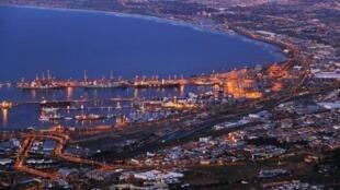 Mji wa Cape Town, Afrika Kusini.
