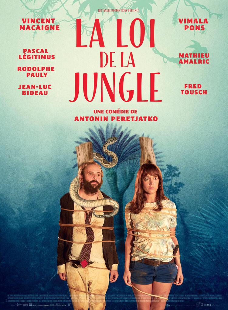 L'affiche du film <i>La loi de la jungle, </i>du réalisateur français Antonin Peretjatko.