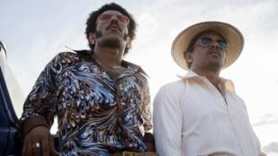 «Les oiseaux de passage», avec Jhon Narváez et José Acosta.