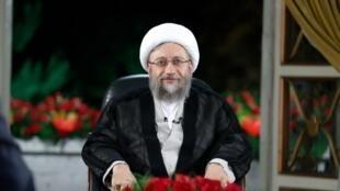 صادق آملی لاریجانی، رئیس قوه قضائیه جمهوری اسلامی ایران
