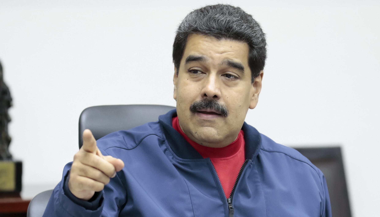 Nicolas Maduro à propos des Etats-Unis: «Ils veulent dialoguer? Je le veux aussi.»