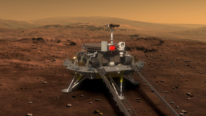 Mô hình Rô-bốt của Trung Quốc sẽ được đưa lên Sao Hỏa vào năm 2020.