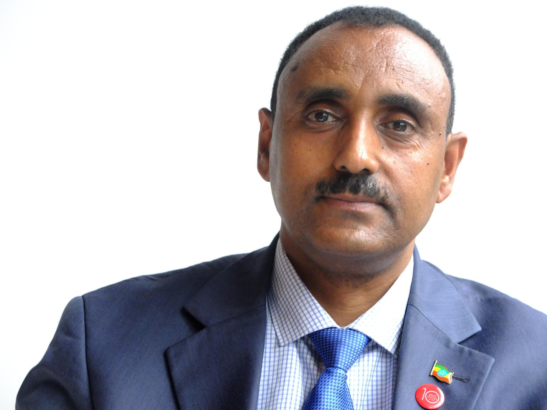 Mebrahtu Meles, ministre éthiopien de l'Industrie 2016.