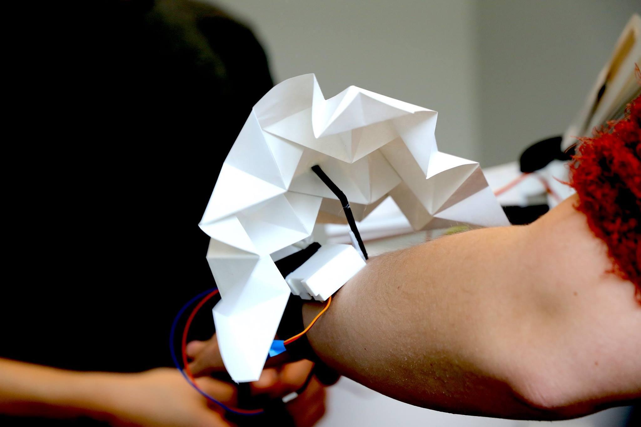 Un módulo del prototipo Wearkit.