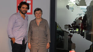 Tarek Kai et Françoise Tillard, pianiste, pédagogue et écrivaine.