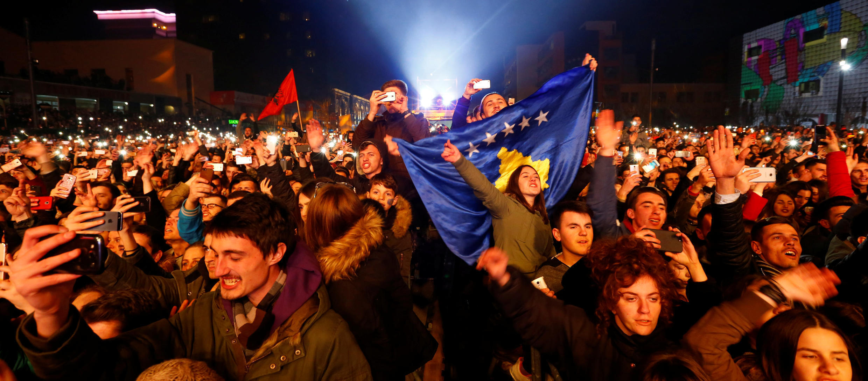 17 февраля в Приштине отпраздновали 10-летие провозглашения независимости.