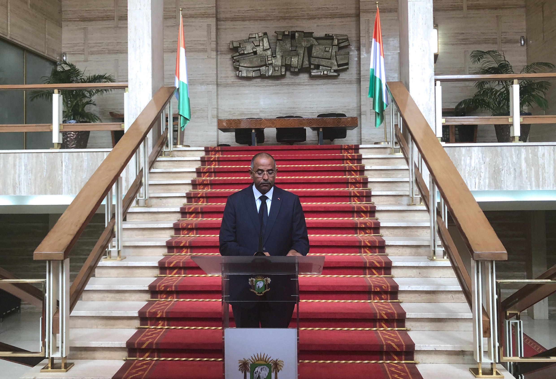 Patrick Achi, ministre d'État et secrétaire général du gouvernement ivoirien.