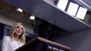 美国白宫发言人凯莉·麦克纳尼资料图片