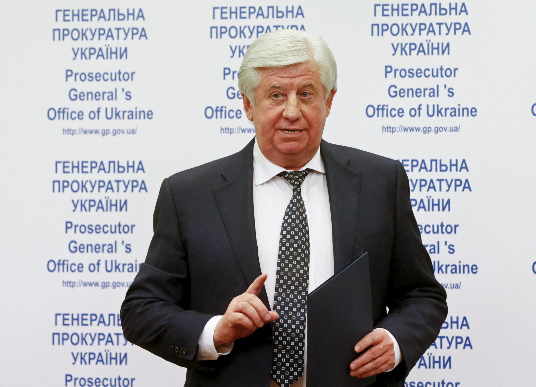 Генпрокурор Украины Виктор Шокин
