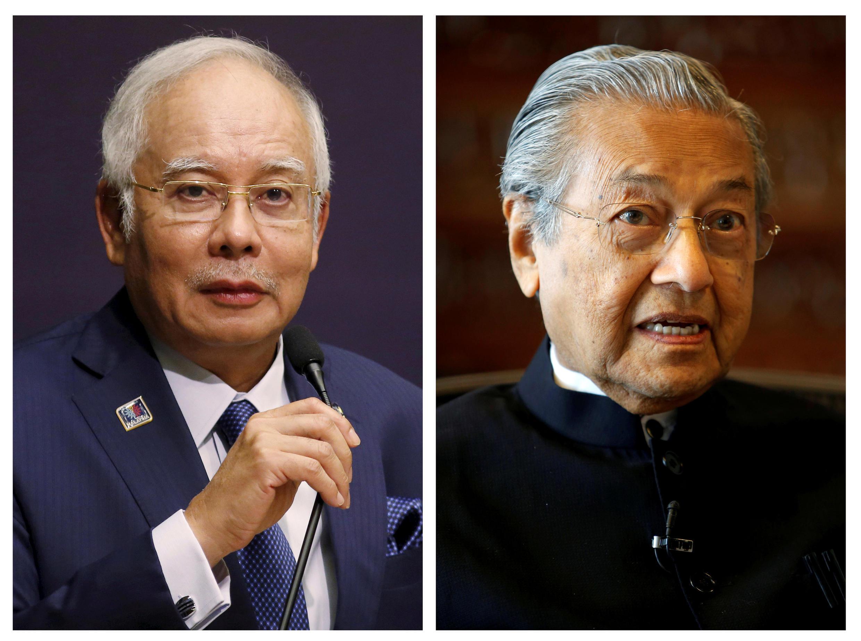 La Premier ministre malaisien actuel, Najib Razak et son ancien mentor aujourd'hui candidat de l'opposition Mahatir Mohamad, 92 ans sont en lice pour le poste de Premier ministre aux prochaines légilatives.