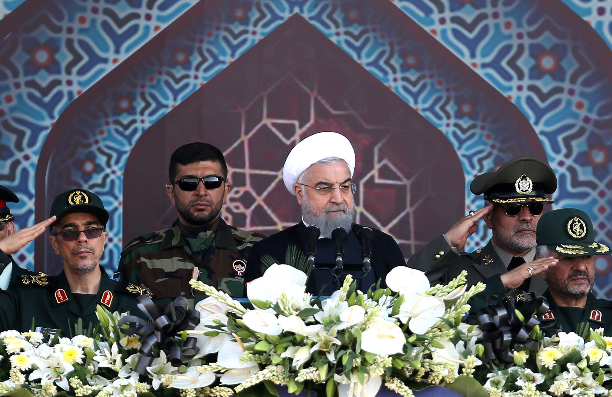Rais wa Iran Hassan Rohani, Septemba 22 2017.