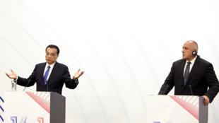 CEEC - sommet 16+1 -Chine - Li Keqiang - Bulgarie - Boyko Borissov